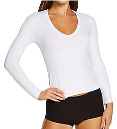 Only Hearts Delicious Vneck Long Sleeve Top 46051