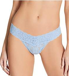 Only Hearts Stretch Lace Intimates Must Have Low Rise Thong 50761