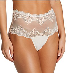 Only Hearts So Fine Lace High Waist Thong 51667