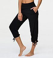 Onzie Gypsy Jersey Roll Down Waistband Crop Pant 212