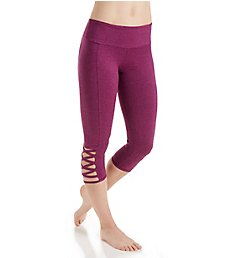 Onzie Weave Criss-Cross Detail Capri Legging 289