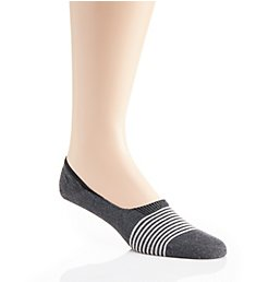 Pantherella Egyptian Cotton Striped Invisible Sock 3003F