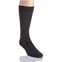 Pantherella Gadsbury Pindot Cotton Lisle Fancy Socks 53611