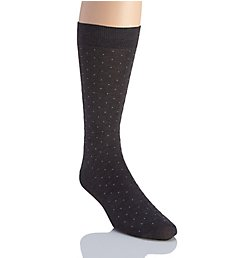 Pantherella Gadsbury Pindot Cotton Lisle Fancy Socks 53611