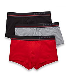 Papi Essentials Cotton Stretch Brazilian Trunk - 3 Pack 980527