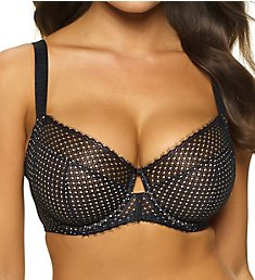 Paramour by Felina Dahlia 4-Section Geo Lace Bra 115048