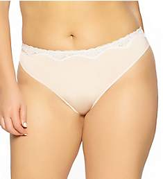 Paramour by Felina Evie Micro & Contrast Swing Lace Thong 535044