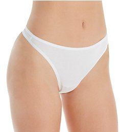 Paramour by Felina Allie Organic Cotton Thong 535045