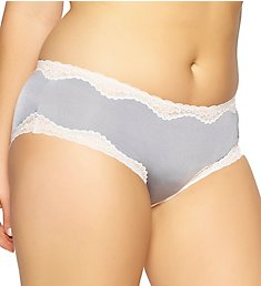 Paramour by Felina Evie Micro & Contrast Swing Lace Hipster 735044