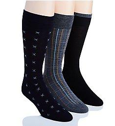 Perry Ellis Portfolio Dress Socks - 3 Pack 0925042