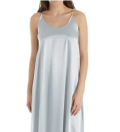PJ Harlow Satin Long Nightgown With Gathered Back Monrow
