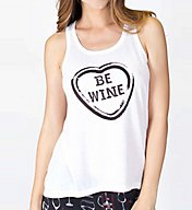 PJ Salvage Wine is my Valentine Tank RBWVTK