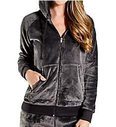 PJ Salvage Cozy Zip-Up Hoodie RECOJ1