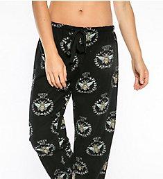 PJ Salvage Fantastic Flannels Queen Bee Pajama Pant REQBP