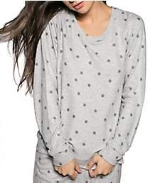PJ Salvage Peachy Party Star Sweatshirt RHPELS