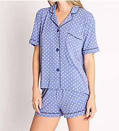 PJ Salvage Peri Peri Dot Short Sleep Set RNPEPJ