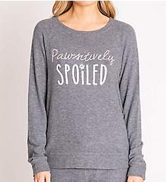 PJ Salvage Pawsitively Spoiled Long Sleeve Top RNPSLS