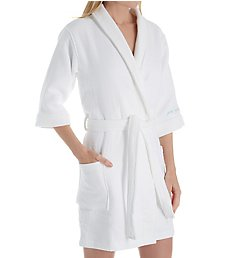 PJ Salvage Spa Day Just Breath Double Face Velour Waffle Robe RNSPR