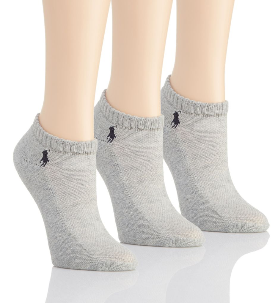 Polo Ralph Lauren Blue Label RL Sport Cushion Foot Sock - 3 Pair Pack 7370