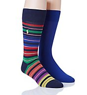 Polo Ralph Lauren Bright Stripe Sock - 2 Pack 899672PK