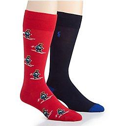 Polo Ralph Lauren Extreme Bears Crew Socks - 2 Pack 899817PK