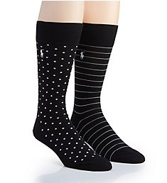 Polo Ralph Lauren Neats Crew Socks - 2 Pack 899824PK