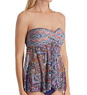 Profile by Gottex Marimba Multiway Flyaway Tankini Swim Top 7371B19
