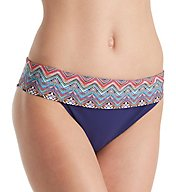 Profile by Gottex Marimba Fold Bikini Brief Swim Bottom 7371P95