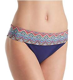 Profile by Gottex Marimba Fold Bikini Brief Swim Bottom 7371P95