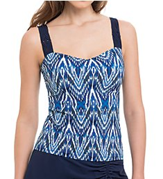 Profile by Gottex Java Underwire Tankini Swim Top 8311D18