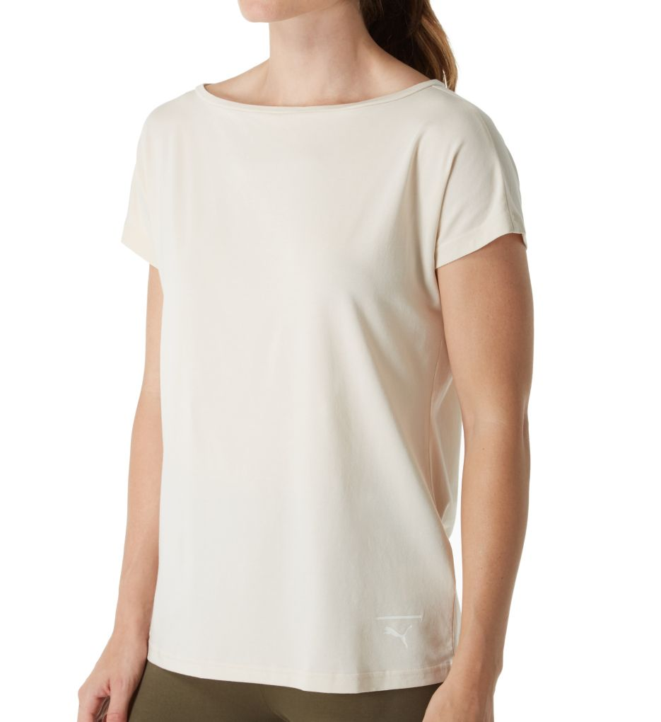 Puma Lace Up Fashion Tee 575056