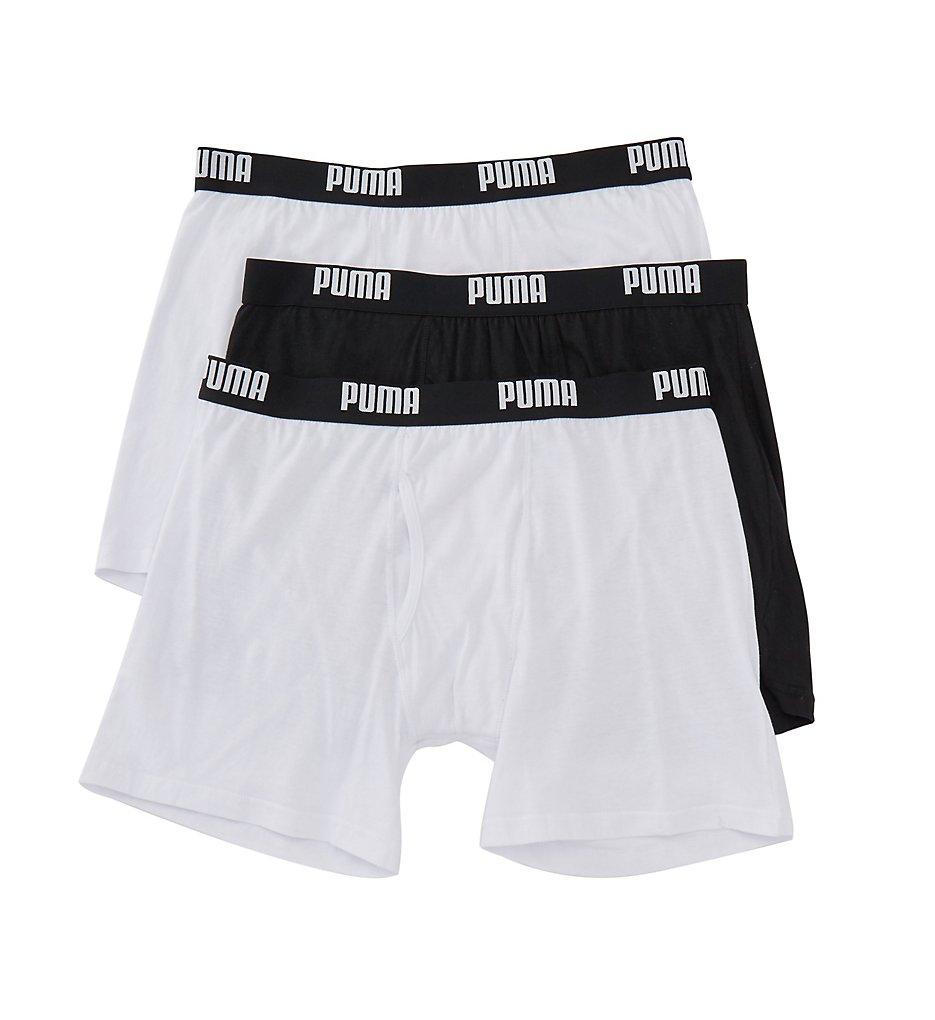 Puma Core Performance 100% Cotton Boxer Briefs - 3 Pack PMCBB