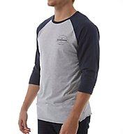 Quiksilver Last Call 3/4 Sleeve Raglan Shirt AQYZ4308