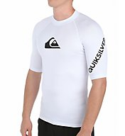 Quiksilver All Time Short Sleeve Surf Shirt Rash Guard EQYWR033