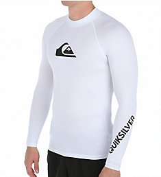 Quiksilver All Time Long Sleeve Surf Shirt Rash Guard EQYWR034