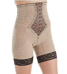 Rago Lacette Extra Firm No Roll High Waist Leg Shaper 6207