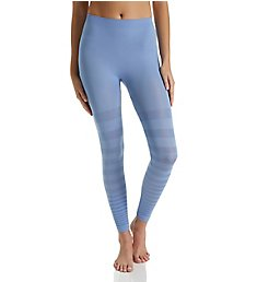 Rhonda Shear Seamless Tonal Striped Shaping Legging 1385