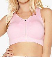 Rhonda Shear Seamless Zip Front Comfort Bra 1612