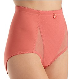 Rhonda Shear Pin Up Lace Front Brief Panty 4001