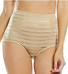 Rhonda Shear Mesh Insert Brief Panty 4003