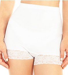Rhonda Shear Pin Up Lace Trim Hi-Waisted Panty 4009