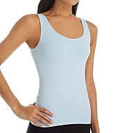 Rhonda Shear Ahh Seamless Tank with Shelf Bra 4035
