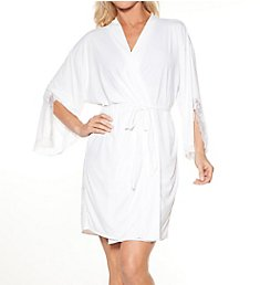 Rhonda Shear Shear D-Lites Short Kimono Robe 6728