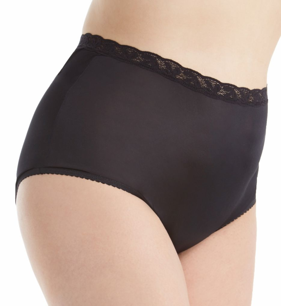 Shadowline Plus Size Nylon Classics Brief Panty 17014P