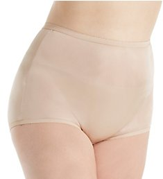 Shadowline Plus Size Nylon Classic Brief Panty 17042P