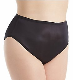 Shadowline Plus Size Nylon Hi-Leg Brief Panty 17842P