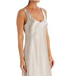 Shadowline Satin Essentials Wide Strap 34 Inch Chemise 27091