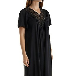 Shadowline Beloved 53 Inch Flutter Sleeve Gown 32275
