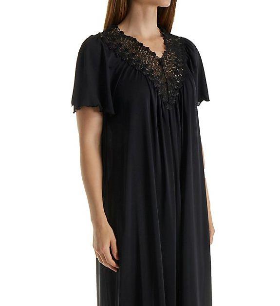 Shadowline Beloved 53 Inch Flutter Sleeve Gown 32275