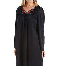 Shadowline Petals Long Sleeve Short Gown 38280